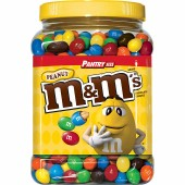 MMS玛氏牛奶巧克力花生豆3.5斤罐装